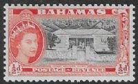 Bahamas SG201 1954 Definitive ½d unmounted mint